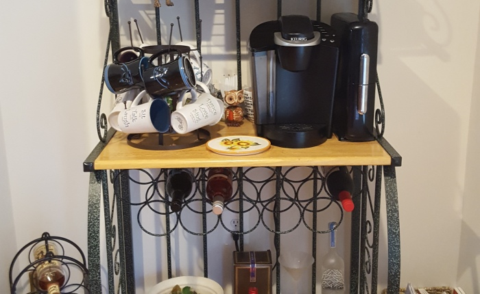 Coffee/ Tea & Bar Hutch {drink station}